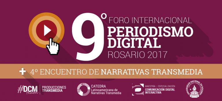 Mirá las conferencias del #Foro2017 de Periodismo Digital y Narrativas Transmedia